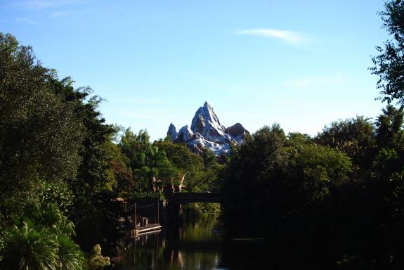 Mount Everest at Animal Kingdom
